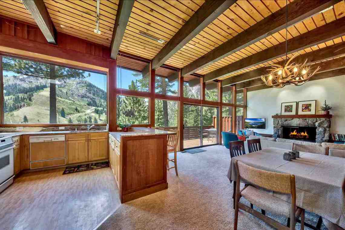 Squaw Valley Interior Mountain Home
