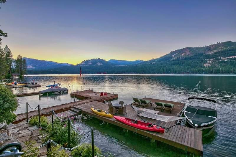 Donner Lake Dock