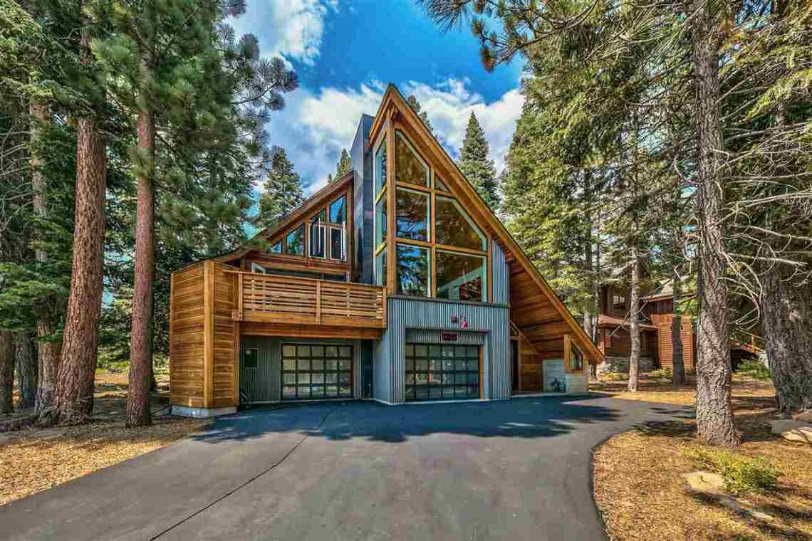 Tahoe Donner Modern Exterior