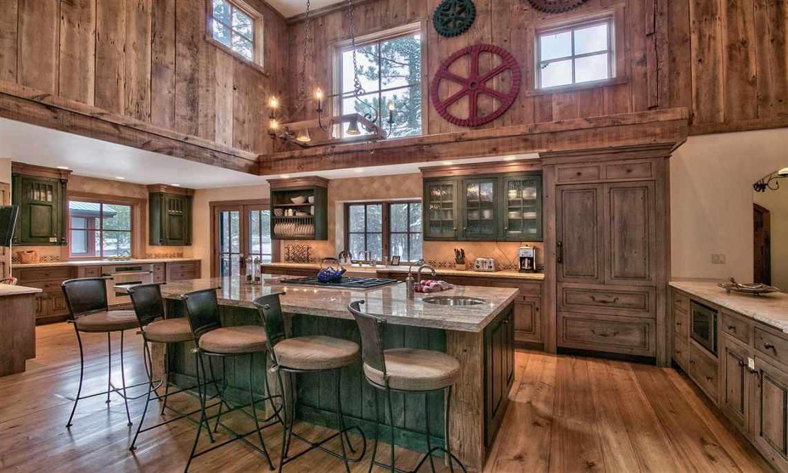 Tahoe Donner Kitchen