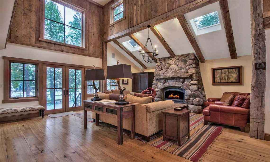 Tahoe Donner Living Room