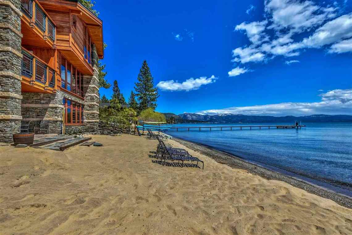 Tonapolo Lakefront Beach Tahoe