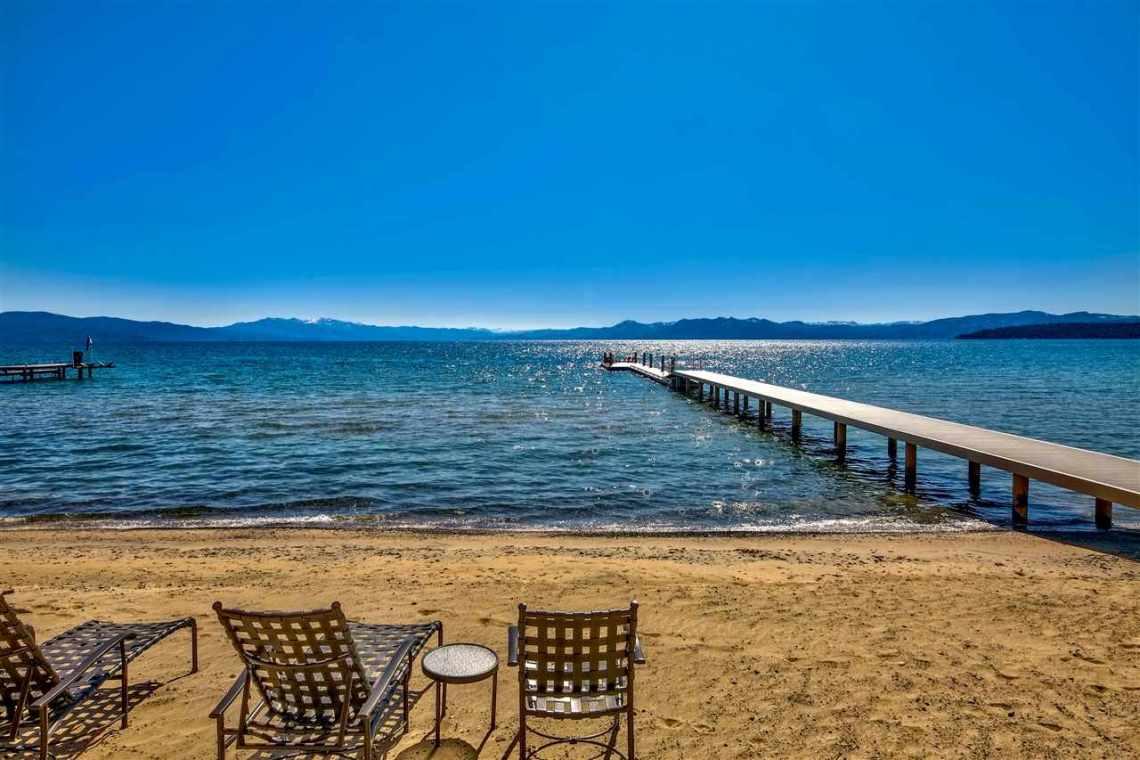 Tonapolo Lakefront Sandy Beach Tahoe