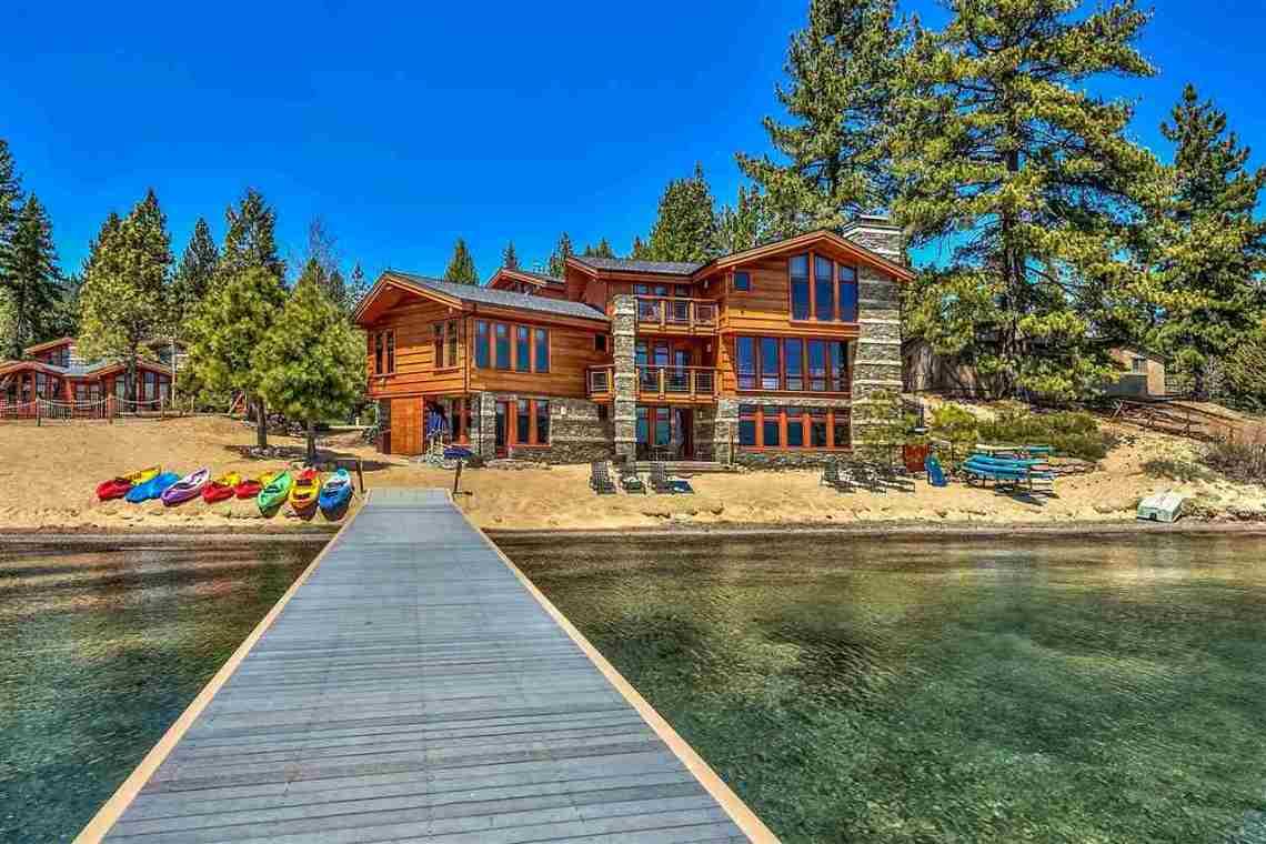 Tonapolo Lakefront Dock Tahoe