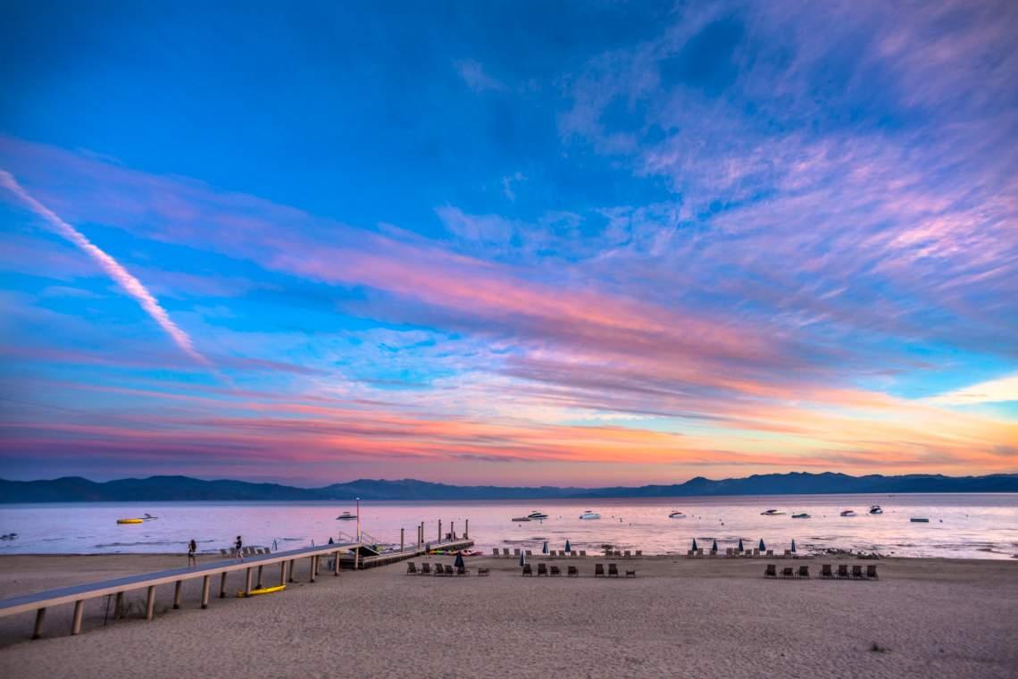 Tonapolo Lakefront Sunset Tahoe