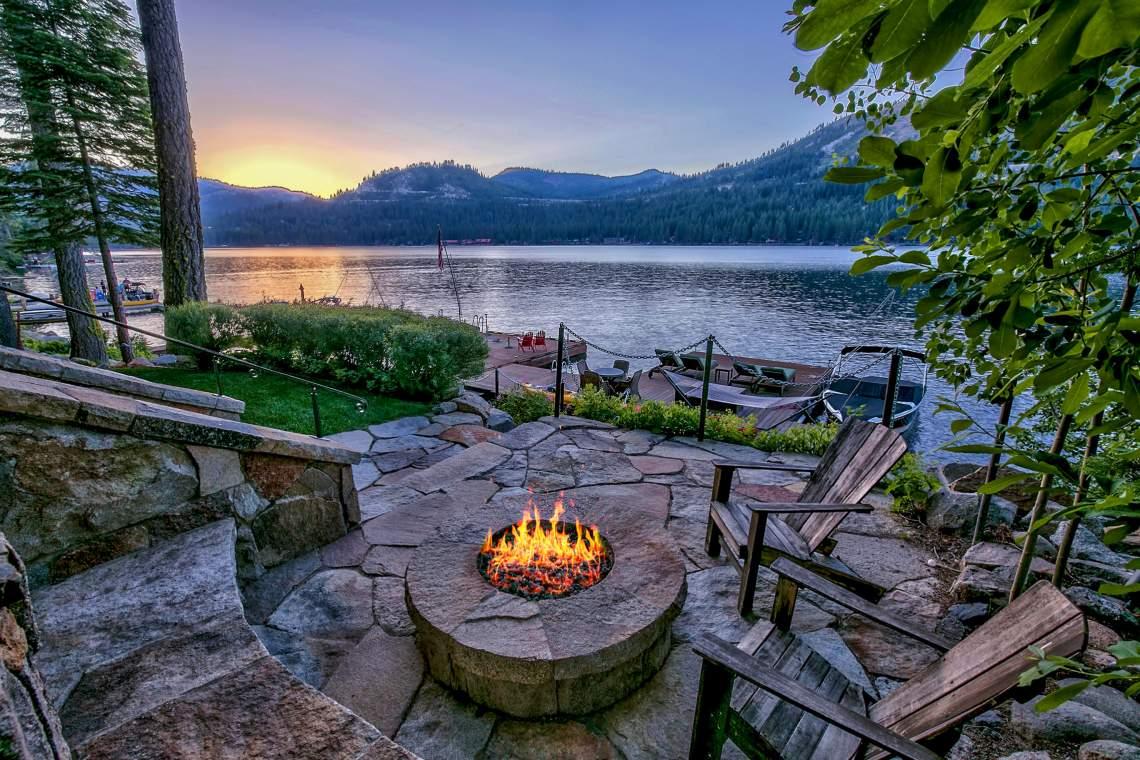 Truckee Donner Lake Firepit