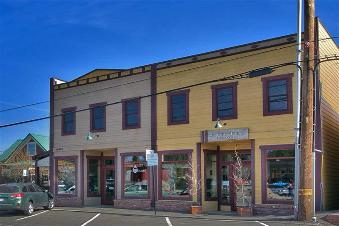 Truckee Downtown Historic Buildings